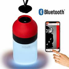 Portable Waterproof Bluetooth Speaker Mini Nous H3 with LED Lamp