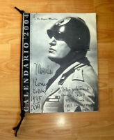 CALENDARIO 2004  BENITO  MUSSOLINI  DUCE DUX  MADE IN ITALY BY GIORGIO MUSSOLINI