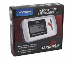 New Dynamite GPS 2.0 V2 Speed Meter & Tracker : RC Plane / Car / Heli / Boat