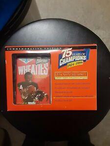 Walter Payton's wheaties 24k gold