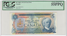 1972 Bank of Canada RS Test Banknote - PCGS Currency AU55 PPQ