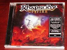 Rhapsody Of Fire: From Chaos To Eternity CD 2011 Bonus Track USA NB 2641-2 NEW