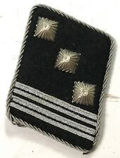 WWII GERMAN WAFFEN HAUPTSTURMFÜHRER OFFICER COLLAR TABS