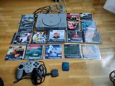 Lote Consola PSX Con Juegos
