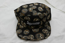 NWT Supreme S/S14 Camp Coin Hat Black