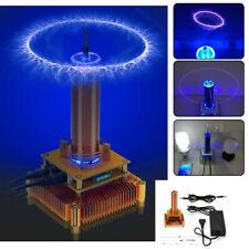 Music Tesla Coil Plasma Speaker Wireless Transmission sound Solid + Power Gold