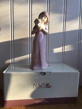 NAO By Lladro ''Kitty Cuddles'' No 01545 Boxed