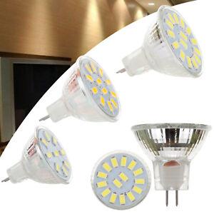 LED Spotlight Bulbs MR11 2W 3W 5733 SMD 12-24V 10W 20W Equivalent White Lamp RD2