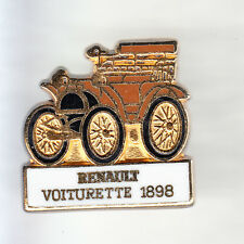 RARE PINS PIN'S .. AUTO CAR ANCIENNE OLD TACOT RENAULT VOITURETTE 1898 OR ~CO