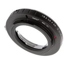 DKL Voigtlander Bessamatic Retina Deckel Lens to Nikon AI F Mount Adapter Ring