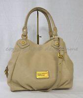 NWT! MARC BY MARC JACOBS Classic Q Fran Satchel/Shoulder Bag in Creme Color
