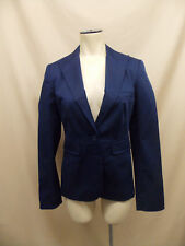 Victoria's Secret~Stretch~Lined~Fitted~Navy~Career~Jacket~Blazer~Size 4~Small