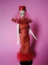 **Bestiaire handmade ooak dress for Barbie Severine Sylvain Silkstone doll**