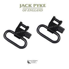 "Jack Pyke 1"" Quick Release Rifle Sling Swivels Gun/Air Rifle for Screw Wood Stud"