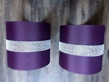 Purple Lamp Shades