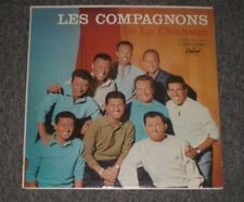 Les Compagnons De La Chanson~Male Vocal Pop~Inner Sleeve~FAST SHIPPING!