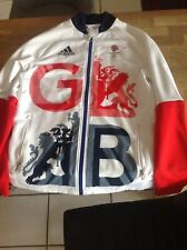 WOMENS ADIDAS TEAM GB OLYMPIC TRACKSUIT TOP SIZE 12