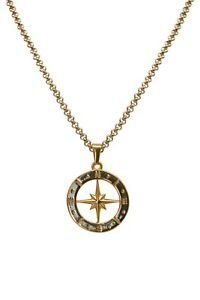 ADONIS.GEAR- COMPASS, PENDANT, CHAIN, GOLD, JEWELLERY, SILVER, NECKLACE