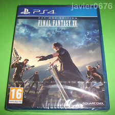 FINAL FANTASY XV - NUEVO Y PRECINTADO PAL ESPAÑA PLAYSTATION 4 PS4