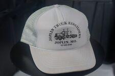 Rare Vintage Joplin Truck Rebuilders Missouri Auto Trucker Mesh Snapback Hat Cap