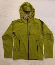 NEW PATAGONIA Stretch Rainshadow Jacket Men's S Fluid Green Reg Fit MSRP $199