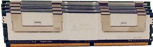 16GB 4X4GB PC2-5300 DDR2 667MHz FBDIMM IBM x3650 (7979-xxx,1914) (7979-xxx,1914)