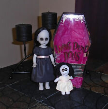 Living Dead Dolls THE LOST Series 8 Horror Gothic Doll LDD Black Dress Complete