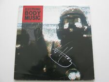 ELECTRONIC BODY MUSIC SKINNY PUPPY SIGNED AUTOGRAPHED LP REF EBM1