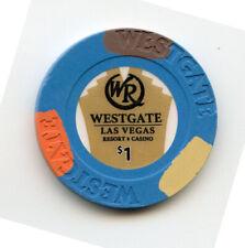 1.00 Casino Chip from the Westgate Casino Las Vegas Nevada