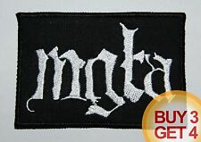MGLA WT PATCH,BUY3GET4,GRAVELAND,DRUDKH,BLACK METAL,WATAIN,URFAUST,TAAKE,MAYHEM
