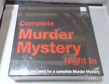 Asesinato misterioso noche completa en juegos de rol Juego de Mesa-Nuevo y Sellado