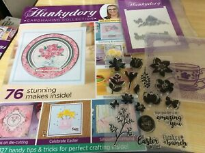 Hunkydory Cardmaking Collection kit magazine. Has the kit but NO papers/card