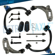 2003-2011 Lincoln Town Car Front Control Arm Ball Joint TieRod Sway Bar Kit 12pc