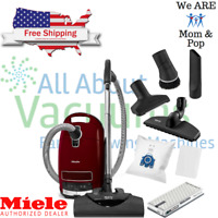 Miele Soft Carpet C3 Complete Canister Vacuum Cleaner *Built For Soft Carpets