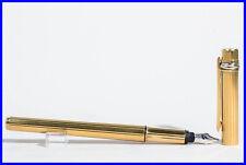 8b24034dabf Must De Cartier Trinity Anéis Caneta Pin Strip Ouro Montblanc 14K M Novo Na  Caixa