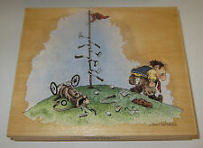 Golf Rubber Stamp It's Only A Game Gary Patterson Large 18th Hole Mouse Clubs