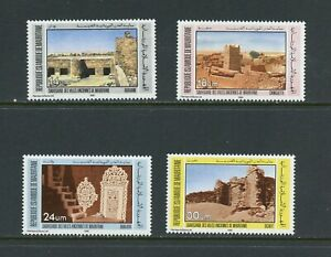 A749  Mauritania  1983  archaeology  ancient cities   4v.    MNH