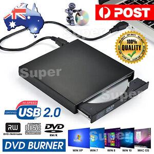 External DVD Drive USB CD RW Burner Laptop/NB/PC Portable Ext Optical Writer NEW