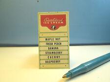 Miniature (Sealtest) Ice Cream Shop Sign S228