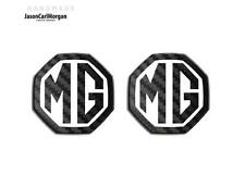 MG ZR ZS MGF MK1 LE500 Front Rear Insert Badge 59mm Black Carbon White