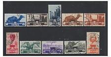 Eritrea - 1933, 2c - 10l set - G/U - SG 199/208