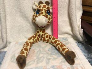 Plush Curtain Critters Jungle Safari Giraffe Tie Back Replacement  cond A+++++