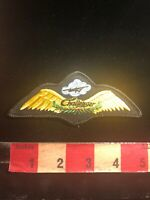 CHALLENGER JET AIRPLANE WINGS Aviation Airplane Patch 03WE