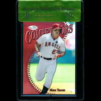 2014 Finest Mike Trout /10 Red Refractor BGS 9.5 Gem Mint Review Competitors
