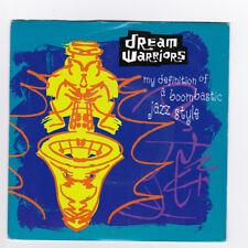 SP 45 TOURS DREAM WARRIORS MY DEFINITION OF A BOOMBASTIC JAZZ STYLE en 1990