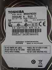 640 GB Toshiba MK6476GSX | 11DEC2012 | HDD2J92 A SL01 T | GS001A hard disk