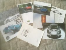 BRITISH SPORTS CAR    BROCHURES x 8     SEE PHOTO FOR WHAT'S INCLUDED