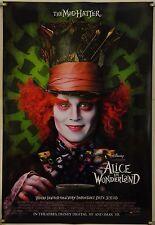 ALICE IN WONDERLAND DS ROLLED ADV ORIG 1SH MOVIE POSTER JOHNNY DEPP (2010)