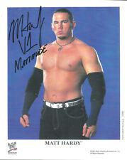 Ps046 Matt Hardy signed Wwe Promo w/Coa