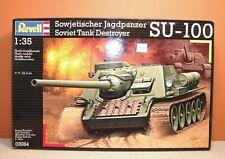 REVELL SOVIET TANK DESTROYER SU-100 1/35